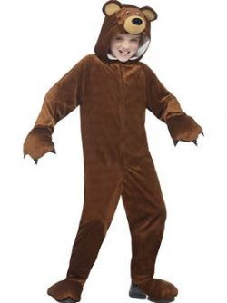 ANIMAUX -  BEAR COSTUME (CHILD)