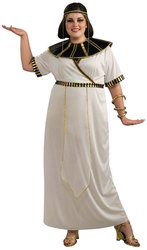 ANTIQUITY -  EGYPTIAN GIRL COSTUME (ADULT - PLUS SIZE 16-22) -  EGYPT