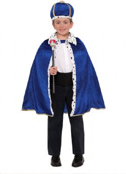ANTIQUITY -  KING ROBE CROWN SET COSTUME (CHILD - UP TO 10)
