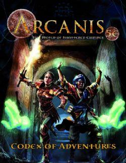 ARCANIS -  CODEX OF ADVENTURES VOL 1  5