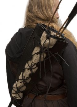 ARCHERY ACCESSORIES -  IMPERIAL QUIVER - BLACK