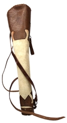 ARCHERY ACCESSORIES -  RANGER QUIVER - BROWN/CREAM