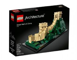 ARCHITECTURE -  GREAT WALL OF CHINA (551 PIECES) 21041