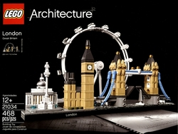 ARCHITECTURE -  LONDON, GREAT-BRITAIN (468 PIECES) 21034