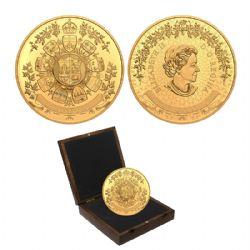 ARCHIVAL TREASURES (IN GOLD) -  1912 HERALDIC DESIGN -  2021 CANADIAN COINS 01