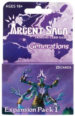 ARGENT SAGA -  EXPANSION PACK 1 (25 CARDS) -  GENERATIONS