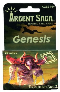 ARGENT SAGA -  EXPANSION PACK 2 (25 CARDS) -  GENESIS
