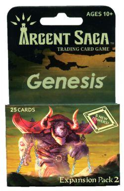 ARGENT SAGA -  EXPANSION PACK 2 (25 CARDS) -  GENESIS