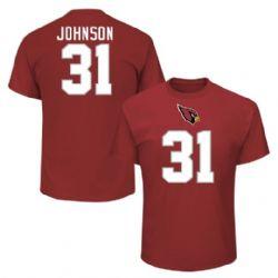 ARIZONA CARDINALS -  DAVID JOHNSON #31 T-SHIRT - RED