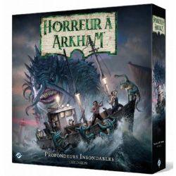 ARKHAM HORROR -  PROFONDEURS INSONDABLES (FRENCH) -  3RD EDITION