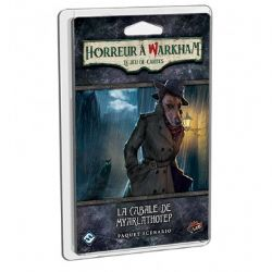 ARKHAM HORROR : THE CARD GAME -  THE MEDDLING OF MEOWLATHOTEP - SCENARIO PACK (ENGLISH)
