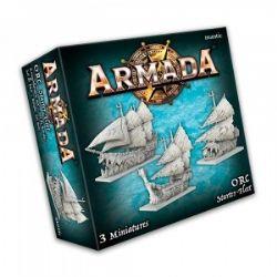 ARMADA : THE GAME OF EPIC NAVAL WARFARE -  ORC STARTER FLEET (ENGLISH)