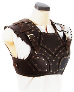 ARMORS -  SCOUNDREL'S LEATHER ARMOR (TORSO ONLY) - BROWN (MEDIUM)