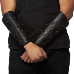ARMOUR -  LEATHERLIKE WRIST ARMOUR AJUSTABLE 9'' LONG
