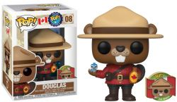 AROUND THE WORLD -  POP! VINYL FIGURE OF DOUGLAS WITH PIN (4 INCH) -  CANADA 08