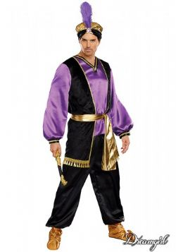 AROUNT THE WORLD -  THE SULTAN COSTUME (ADULT)