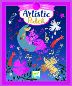 ARTISTIC PATCH -  MELODIES -  FOIL ART