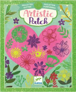 ARTISTIC PATCH -  PETALS -  GLITTER