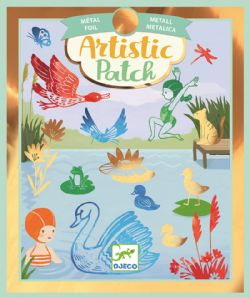 ARTISTIC PATCH -  SHORES -  FOIL ART