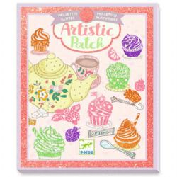 ARTISTIC PATCH -  SWEETS -  GLITTER
