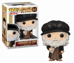ARTISTS -  POP! VINYL FIGURE OF LEONARDO DA VINCI (4 INCH) 04