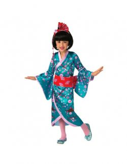 ASIANS -  CHERRY BLOSSOM PRINCESS COSTUME (CHILD)