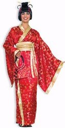 ASIANS -  MADAME BUTTERFLY COSTUME (ADULT - ONE SIZE)