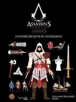 ASSASSIN'S CREED -  L'UNIVERS DÉCRYPTÉ EN INFOGRAPHIE -  ASSASSIN'S CREED GRAPHICS
