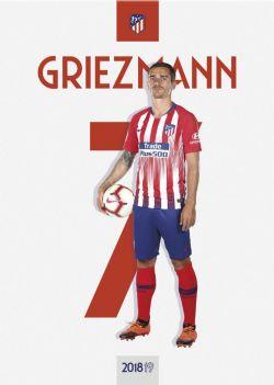 ATLÉTICO DE MADRID -  2018-19 ANTOINE GRIEZMANN POSTER