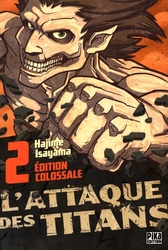 ATTACK ON TITAN -  ÉDITION COLOSSALE (FRENCH V.) 02
