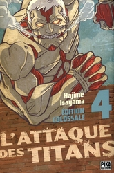 ATTACK ON TITAN -  ÉDITION COLOSSALE (FRENCH V.) 04