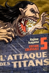 ATTACK ON TITAN -  ÉDITION COLOSSALE (FRENCH V.) 05