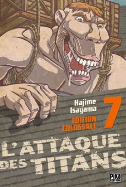ATTACK ON TITAN -  ÉDITION COLOSSALE (FRENCH V.) 07