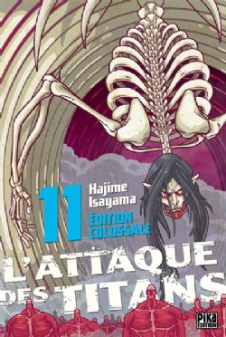 ATTACK ON TITAN -  ÉDITION COLOSSALE (FRENCH V.) 11
