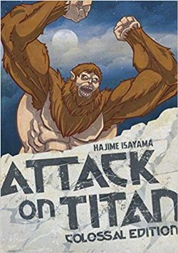 ATTACK ON TITAN -  OMNIBUS - COLOSSAL EDITION (ENGLISH V.) 04