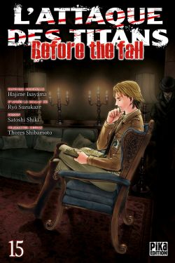 ATTACK ON TITAN -  (V.F.) -  BEFORE THE FALL 15