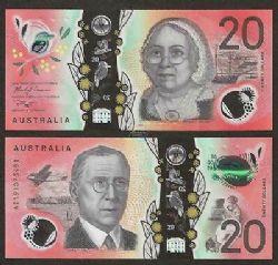 AUSTRALIA -  20 DOLLARS 2019 (UNC)