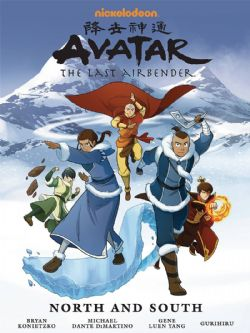 AVATAR - THE LAST AIRBENDER -  NORTH AND SOUTH LIBRARY EDITION HC