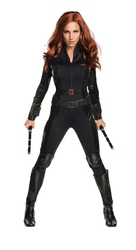 AVENGERS -  BLACK WIDOW COSTUME (ADULT) -  CAPTAIN AMERICA: CIVIL WAR