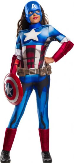 AVENGERS -  CAPTAIN AMERICA COSTUME (CHILD)