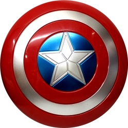 AVENGERS -  CAPTAIN AMERICA SHIELD (12 INCHES DIAMETER) -  CAPTAIN AMERICA 3 : CIVIL WAR