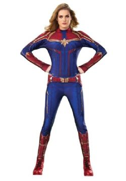 AVENGERS -  CAPTAIN MARVEL COSTUME (ADULT) -  CAPTAIN MARVEL