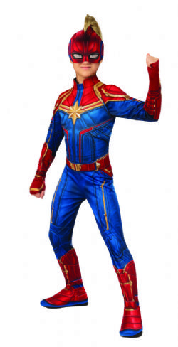 AVENGERS -  CAPTAIN MARVEL COSTUME (CHILD) -  CAPTAIN MARVEL