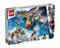 AVENGERS -  HULK HELICOPTER RESCUE (482 PIECES) 76144