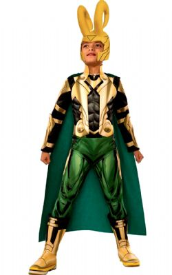AVENGERS -  LOKI COSTUME (CHILD) -  AVENGERS INITIATIVE