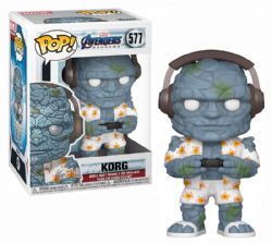 AVENGERS -  POP! VINYL BOBBLE-HEAD OF KORG (GAMER) (4 INCH) -  AVENGERS 4 : ENDGAME 577