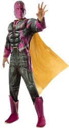 AVENGERS -  VISION COSTUME - MUSCLE CHEST (ADULT) -  AVENGERS 2 : AGE OF ULTRON