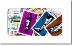 AVIATION -  50 ASSORTED STAMPS - AVIATION