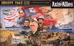 AXIS & ALLIES -  AXIS & ALLIES - EUROPE 1940 SECOND EDITION