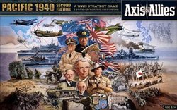 AXIS & ALLIES -  AXIS & ALLIES - PACIFIC 1940 SECOND EDITION